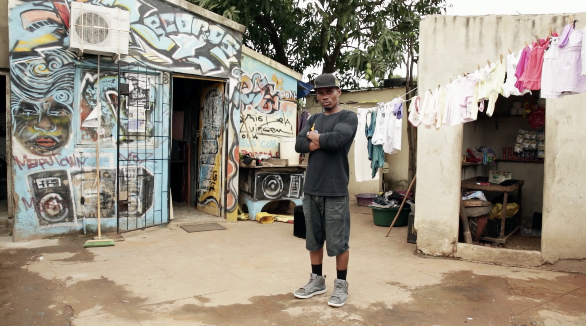 """Still image from """"Maputo: Ethnography of a Divided City""""."""